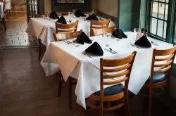 Kinkob White Restaurant Table Linen, Size: 60 Inch *120 Inch