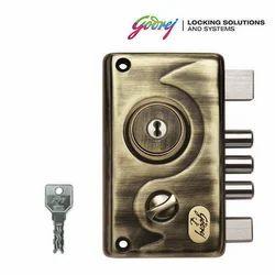 Silver STEEL ANTIQUE FINISH Godrej Lock, Model Name/Number: 5356