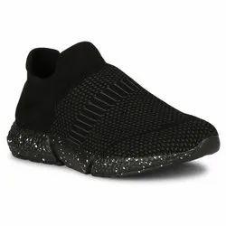 Zibra Black Running Shoes
