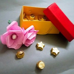 Rectangular Mango, Strawberry Handmade Chocolates, For Gifting