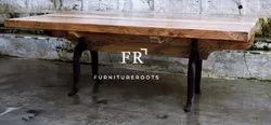 Restaurant Furniture Dining Table - Farmhouse Style Dining Table - Bar & Cafe Dining Tables