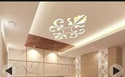 False Ceiling- CNC, Wooden & Acrylic With Cove Lights