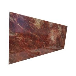 Samdani Big Slab Majestic Red Granite Slab, for Kitchens, Thickness: 18 mm