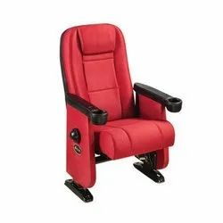 Leather Theater Chair, For Commercial Use