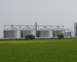 Galvanized Steel Gi Sheet Farm Silo