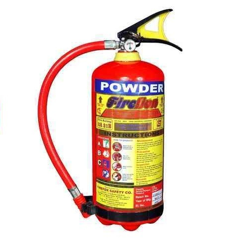ABC Powder Type Portable Fire Extinguisher, Capacity: 4 Kg ...