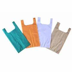 Plain Non Woven U Cut Shopping Bag
