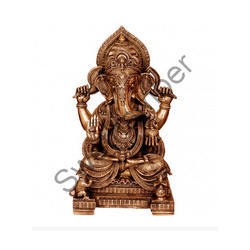 Lord Ganesha Statues brass