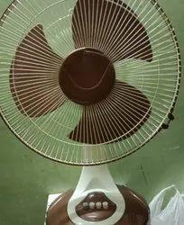 White 16 Inch Desk Fan