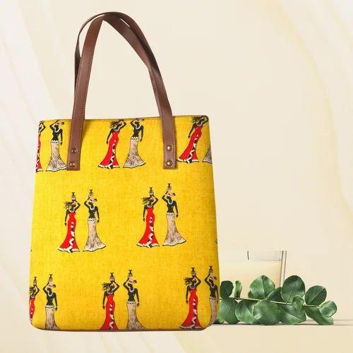 Multicolor College Tote Bags