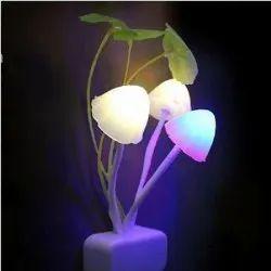 Automatic Sensor Mushroom Night Lamp