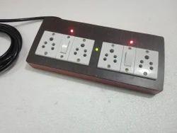 LED 4 Socket Electrical Switch Board