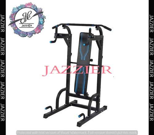 Jazzier Power Tower Home Gym With Standing Pull Up Bar,parallel Bar,dips  Station And Push Up Bar Po