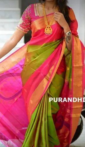 3d868c1f2b Uppada Pattu Sarees, Hand Made, Rs 5500 /piece, Uppada Jamdhani ...