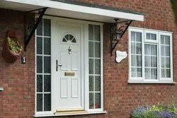 Hinged Lever Handle UPVC Exterior Doors