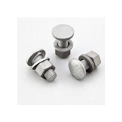 Hot Dip Galvanized Button Head Bolt with Nut