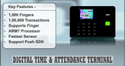 Endroid DTK-406 Bio- Metric Time Attendance System
