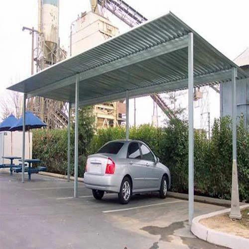 Steel Parking Shed पार्किंग छप्पर पार्किंग शेड