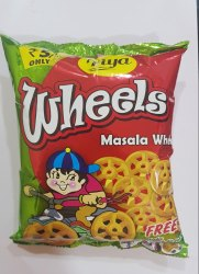 Tiya Masala Wheel Fryums, Packaging Type: Packet