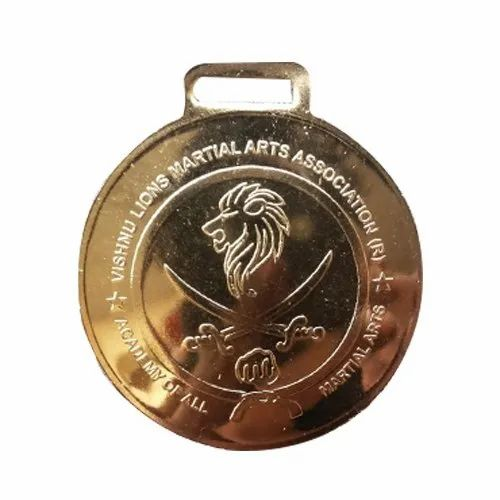 Martial Arts Academy Promotional Medal