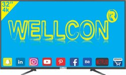 Wellcon 32 Inch Smart 4k Ready Led Tv