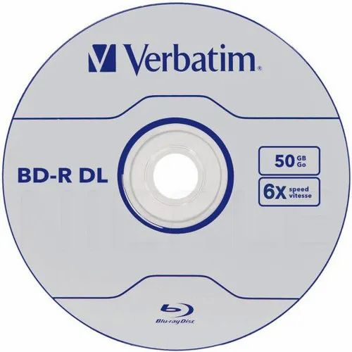 5616f257e Verbatim Blu-Ray Recordable BD-R DL 50GB 10 Pack Spindle 50GB, Blank ...