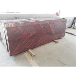 Multi Red Granite Slab, 15-20 Mm