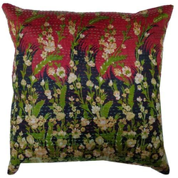 Hand Made Silk Cushion Cover