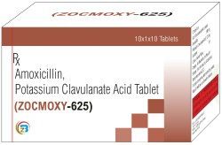 Amoxicilline, Potassium Clavunate Acid  Tablets