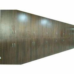 Laminated Board Brown Office File Storage Almirah
