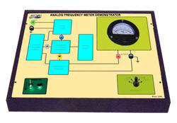 Analog Frequency Meter Demonstrator Trainer