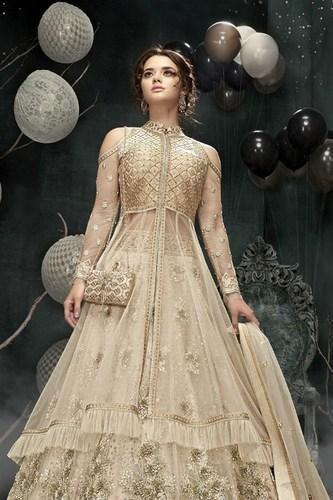 Ivory off White Colour Wedding Gown Dress 23003, शादी के ...