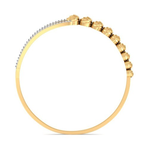 d41568948e5 Sarvada Jewels Real Diamond Womens Bracelet In 18k Yellow Gold