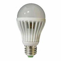Round Plastic and Ceramic Chinese LED Bulb, 7 and 12 Watt
