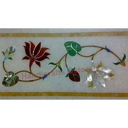 Marble Inlay Border Tile