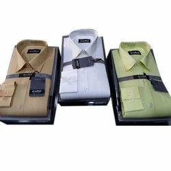 38.0 & 40.0 Plain Men's Formal Shirt