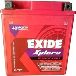 Exide Xplore XLTZ 7 Motorcycle Battery