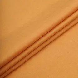 Plain 58 inch Solid Saffron Cotton Linen Fabric, GSM: 50-100 GSM