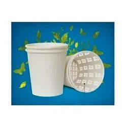 White ITC Paper Cup 150 mL