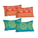 Printed Cotton Pillow Cover