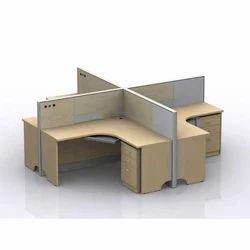 Jap Enterprises Plywood Cubicle Workstation for Office
