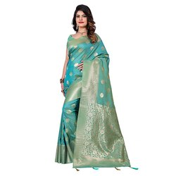 1018 Traditional Handloom Silk Saree