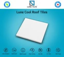 White Solar Reflective Cool Roof Tiles