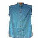 Icfc Collar Neck Mens Trendy Dot Printed Cotton Casual Shirt, Size: S-xxl