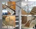 Staircase Stairs Stainless Steel Handrail, For Home