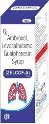 Ambroxol, Levosalbutamol, Guaiphenesin Syrup