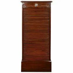 Wooden File Shutter Cabinet