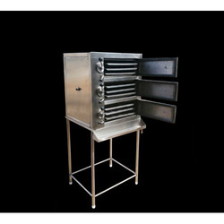 Stainless Steel Idli Cooking Plant, Capacity: 120 Pieces