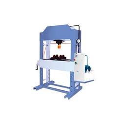 Mild Steel Commercial Hydraulic Machine, Capacity: 1-5 Ton, Max Force Or Load: 0-30 ton