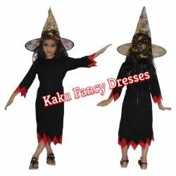 Kids Witch Costume With Cap